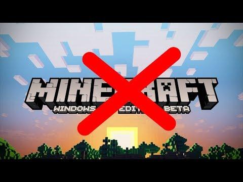 N'achetez pas Minecraft pour Windows 10 Edition !