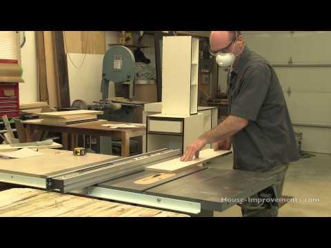 DIY Cabinet Building: Cutting Melamine & Edge Banding Tape
