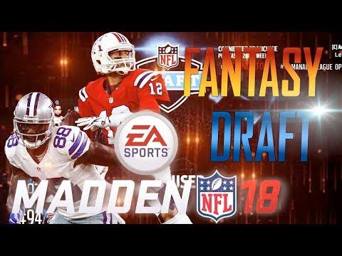 Madden 18 Fantasy Draft! FULL ONLINE LEAGUE!