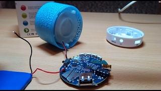 Разборка и замена аккумулятора  Super Bass Bluetooth  колонки Bluetooth колонка с Aliexpress