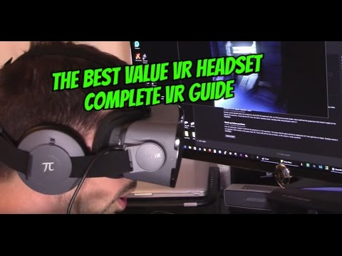 HOW TO SETUP PIMAX 4K VR HEADSET and PLAY VIRTUAL REALITY GAMES ON PC