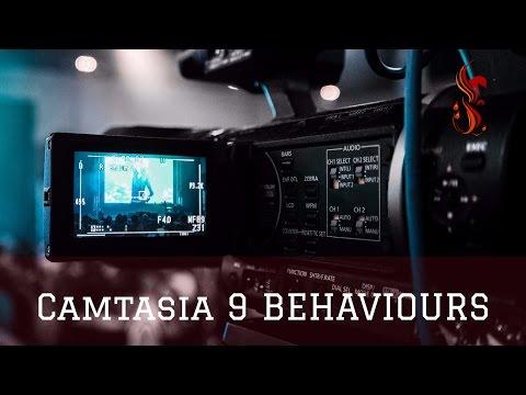 camtasia 9 behaviours