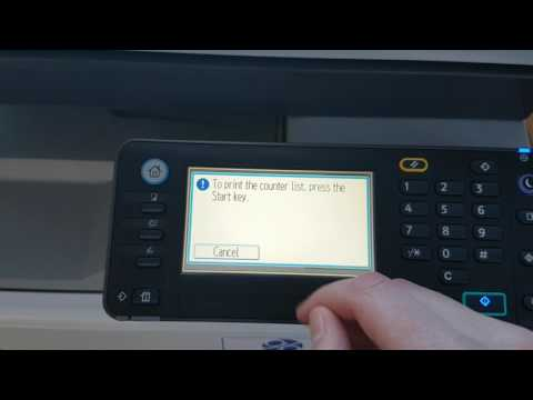 Tutorial For Getting Ricoh Metre Readings MP 301