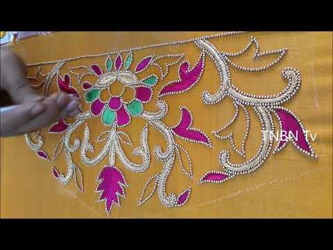 latest blouse designs for back | aari work blouse designs with price | maggam work blouse designs