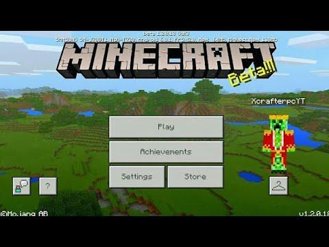Minecraft PE 1.2 | MCPE 1.2 BETA BUILD 7 RELEASED!! + GAMEPLAY!! (Pocket Edition)