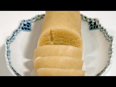 Easy Marzipan Recipe - How To Make Marzipan - Almond Paste Recipe
