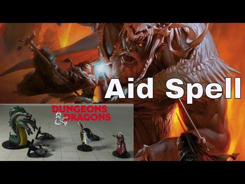 D&D Spell (5e): Aid.