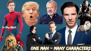 Download Benedict Cumberbatch Hilarious Celebrity Impressions - Try Not To Laugh 2018 Video