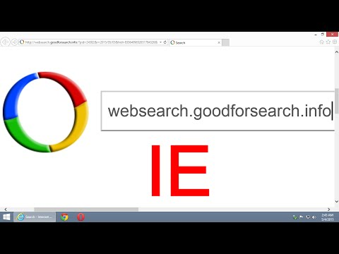 How to remove websearch.hotsearches.info from Internet Explorer (IE) - Tutorial