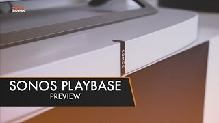 Sonos unveils the Playbase | First Look