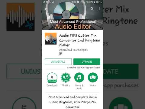 Mp3 cutter and ringtone maker best app (Hindi)