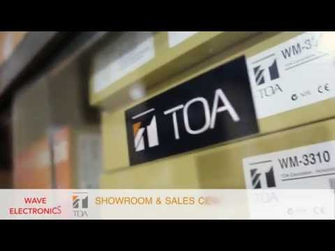 TOA Show Room & Sales Centre in Bangladesh - Wave Electronics