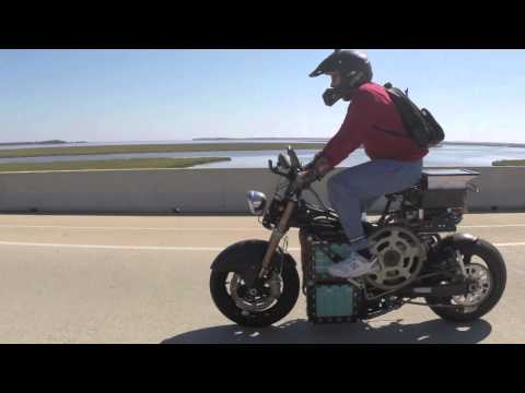 Pedal Electric Motorcycle