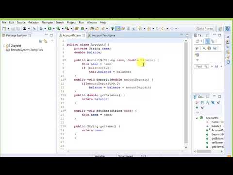 how to check account balance and make a deposit using java - 8