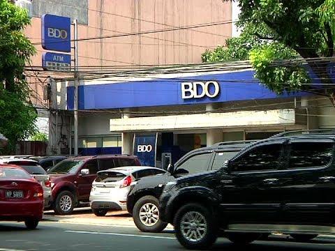 Ilang depositor ng BDO, nagka problema sa kanilang mga ATM account