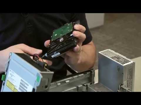 HP 8200 Hard Drive Replacement