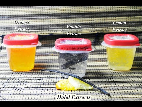 Home Made Extract Without Alcohol (Halal)