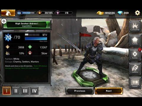 Heroes of Dragon Age   Bloodstone Pack #3 High Seeker Aldren