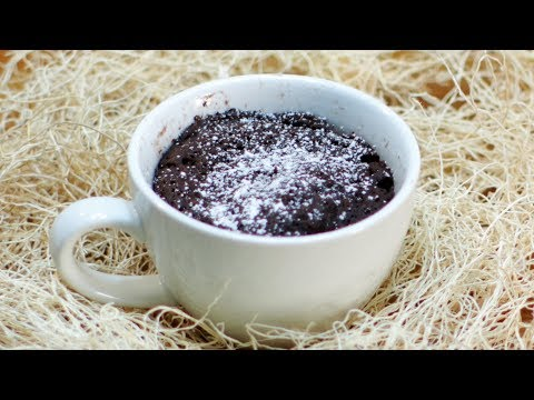 Easy 3 Ingredient Microwave Mug Cake (no eggs)
