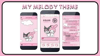 theme oppo my melody