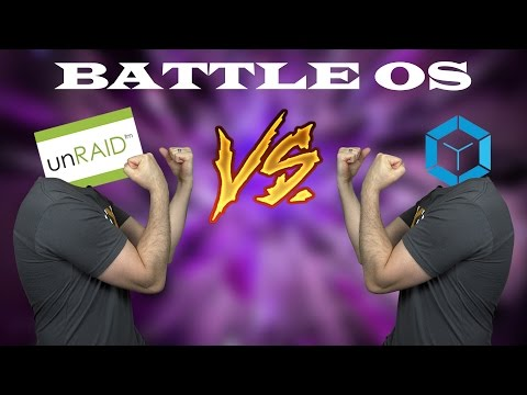 Plex Battle OS Ep. 4 - FreeNAS Corral VS unRAID