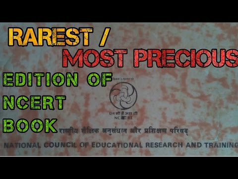 Very RARE and PRECIOUS edition of OLD NCERT book for NEET and AIIMS preparation.