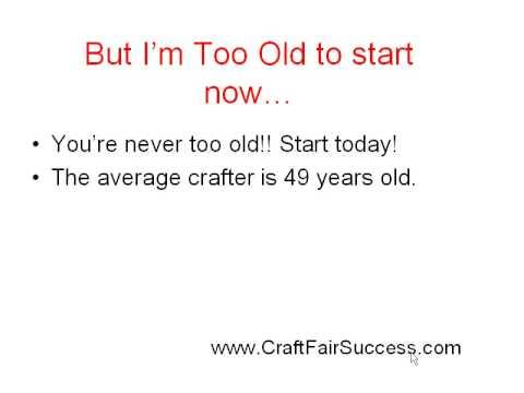 Craft Fair Success Secrets