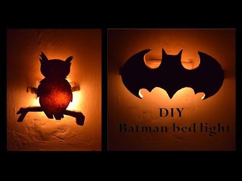DIY Batman Bed Light || Varna || Rachana Kannegulla