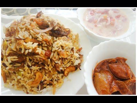 Ramzan Special Chemmeen Biriyani [Kerala Style Prawns Biryani]- chinnuz' I Love My Kerala Food
