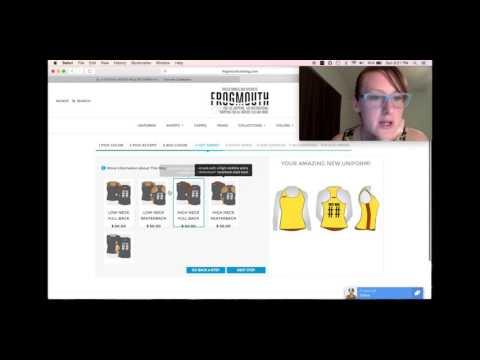 Build Your Own Custom Roller Derby Uniform Online