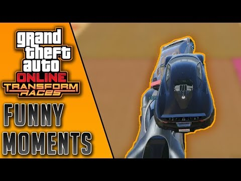GTA Online | Transform Races Funny Moments #2