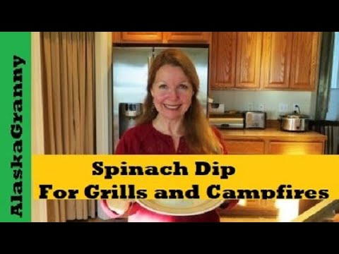Spinach Dip For Grills and Campfires