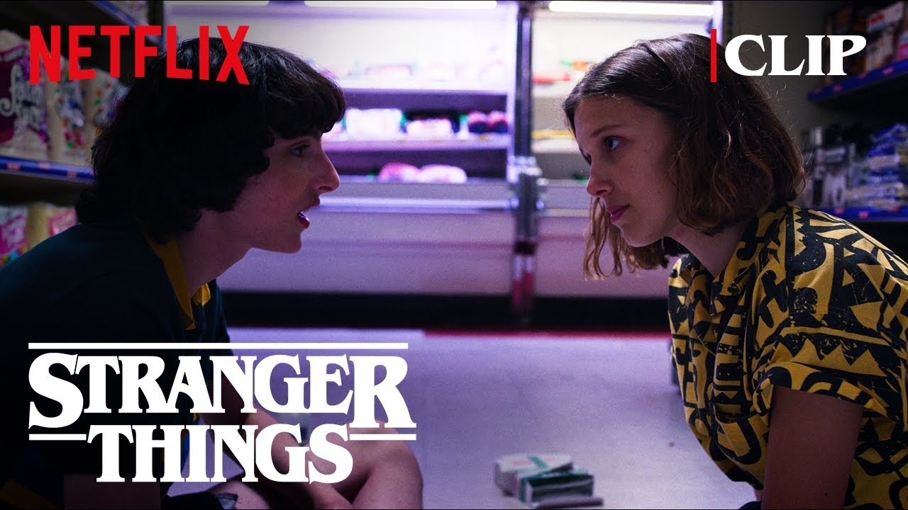 mike trying to tell eleven that he LOVES HER | stranger things
