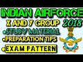 INDIAN AIRFORCE AIRMEN x AND Y Group Exam preparation | New Exam pattern, Syllabus, and Study Tips|