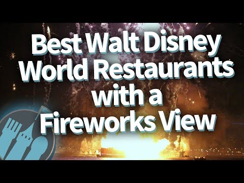 Best Disney World Restaurants With a Fireworks View -- And How To Score a Reservation!