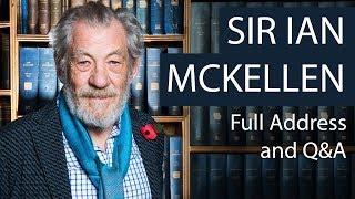 Download Sir Ian McKellen | Full Address and Q&A | Oxford Union Video