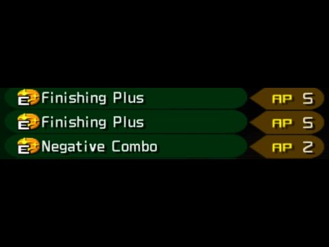4 Finishers are OP. (Kingdom Hearts 2 Final Mix)