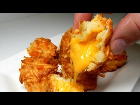 How To Make CHEESY TATER TOTS At Home - iNSPIRE to cOOk