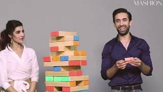 Hareem Farooq and Ali Rehman Play A Game Of Truth Or Dare Jenga   Mashion   Heer Maan Ja