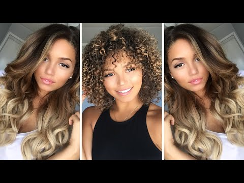 Hair Care Routine for Color Processed Curly Hair | Ashley Bloomfield