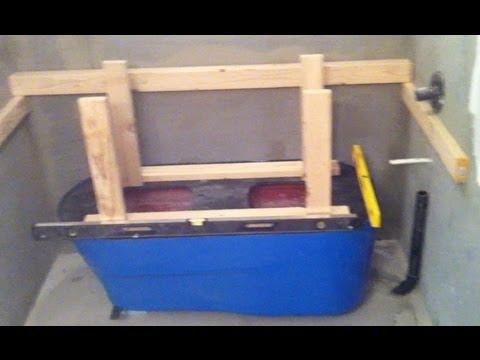 Making a Concrete Bath Tub Part 1- Setup