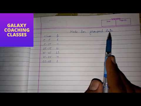 how to find mode in statistics (English) ll cbse class 10 maths NCERT chapter 14 statistics