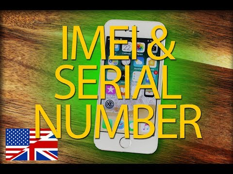 How to find the IMEI- or serial number on iPhone, iPad or iPod touch