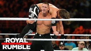John Cena vs. AJ Styles - WWE Title Match: Royal Rumble 2017