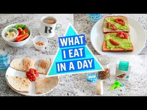 What I Eat In A Day (EASY VEGETARIAN MEALS)