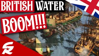 British Water BOOM! Amazing Game!!!   Strategy School   Age of Empires III
