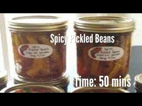 Spicy Pickled Beans Recipe