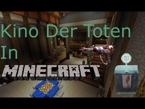 Kino Der Toten in Minecraft:Pack-a-Punch, Mystery Box  and Upgraded Park Machines