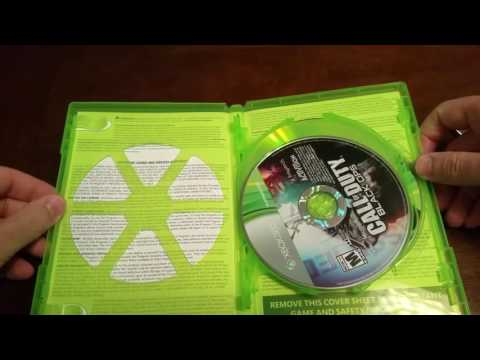Call of Duty Black Ops Collection Xbox 360 unboxing