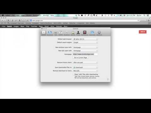 How to Change a Homepage on Mac Using Safari : Tech Yeah!
